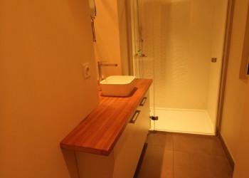 LYNIUM Agencement Et Rénovation De Salle De Bain Sur Mesure - Plan de travail salle de bain sur mesure